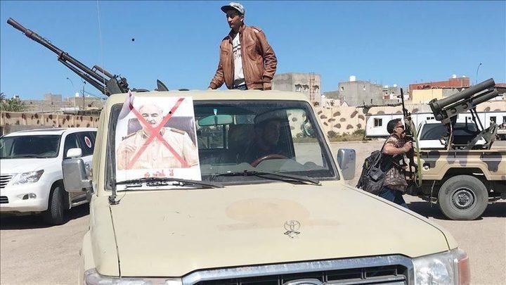 طرابلس: استهداف مطار معيتيقة  بالصواريخ