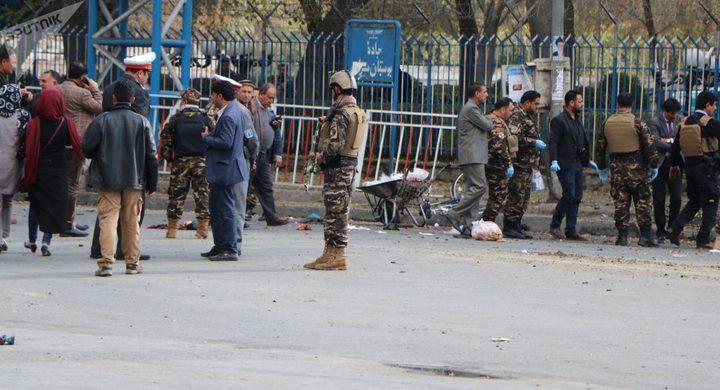 مقتل 24 شخصا بتفجير  بأفغانستان