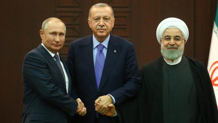 قمة أنقرة تؤكد على وحدة وسيادة سوريا