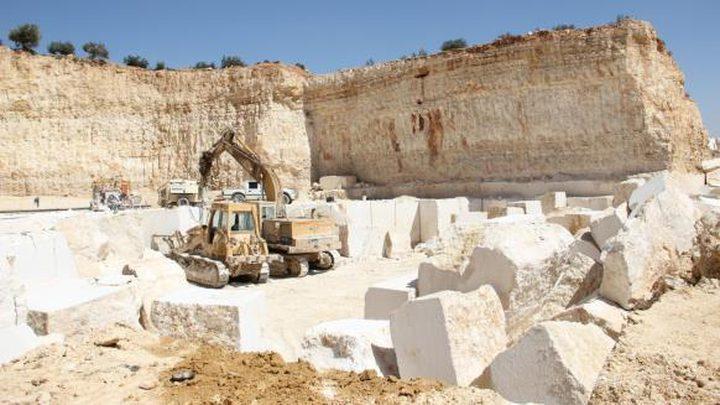 العسيلي:  مساعي حثيثة لتحسين صناعة الرخام والحجر