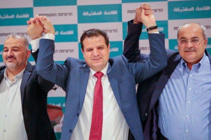 الشعبية تحذر القائمة المشتركة من التحالف مع أحزاب إسرائيلية