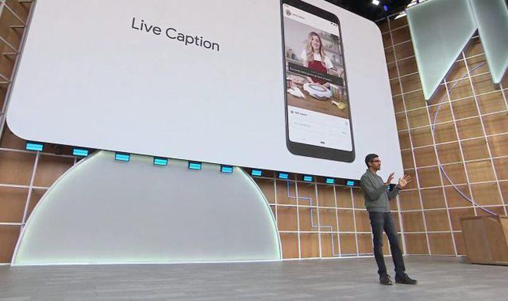 جوجل تطرح ميزة Live Caption رسميا لتطبيقات اندرويد