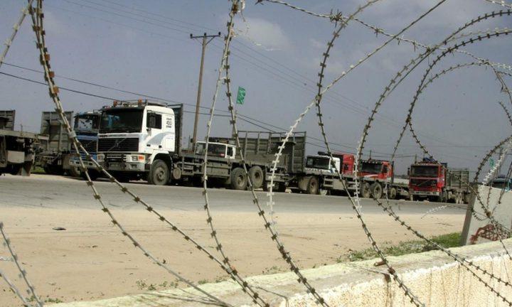 فتح معابر غزة بعد إغلاق دام 24 ساعة