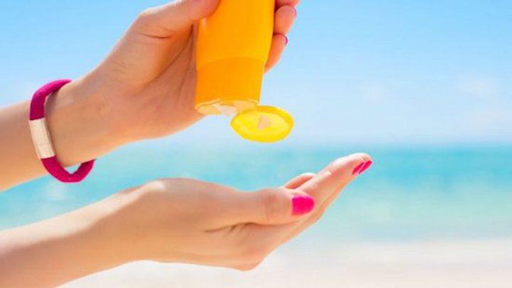 تحذير.. كريم الوقاية من الشمس مصدر مشكلة صحية خطيرة