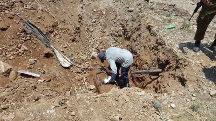 الاحتلال يغلق فتحات المياه المغذية لقرية بردلة بالأغوار