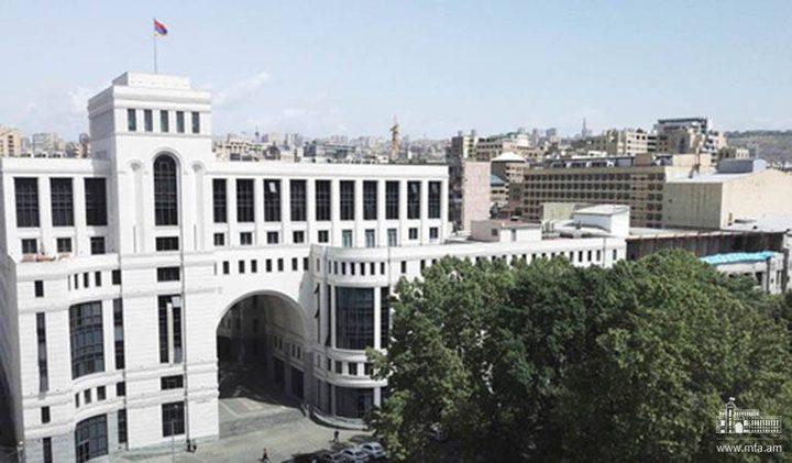 أرمينيا تقرر فتح سفارة لها في دولة الاحتلال
