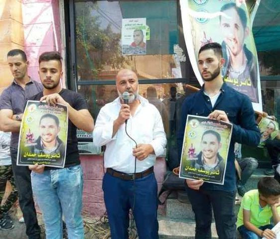 الأسير حمدان يعلق إضرابه