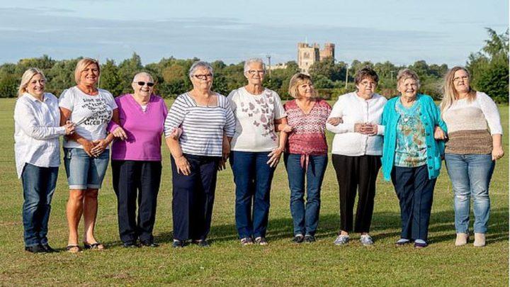 10 سيدات من نفس العائلة في حرب جماعية ضد السرطان!