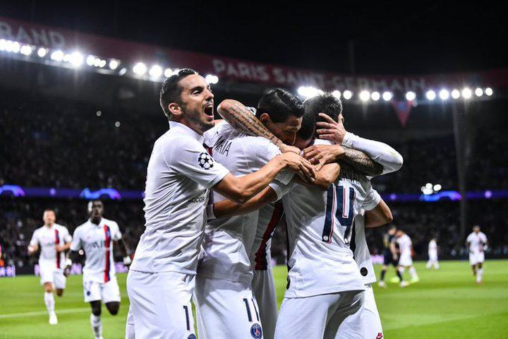 باريس سان جيرمان يسحق ريال مدريد