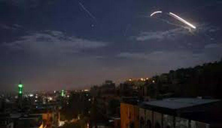 تدمير طائرة مسيرة فوق عقربا بريف دمشق