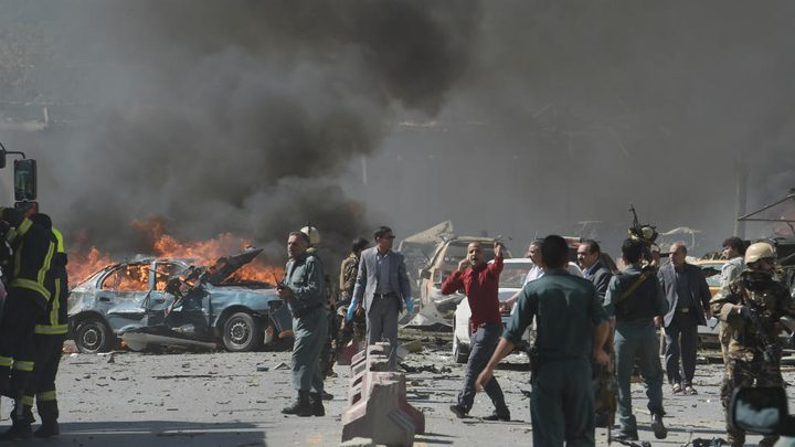 مصرع 10 أشخاص وإصابة العشرات بانفجار جنوب افغانستان