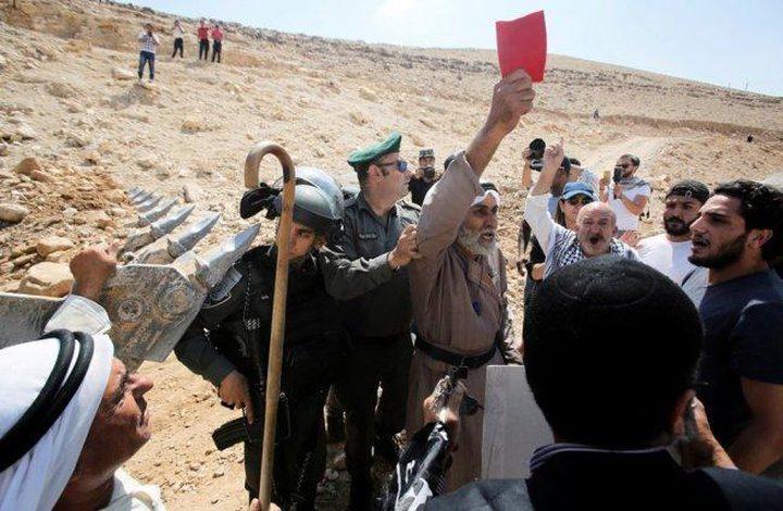 بدء الاعتصام المفتوح في منطقة المنطار رفضاً لإقامة بؤرة استيطانية