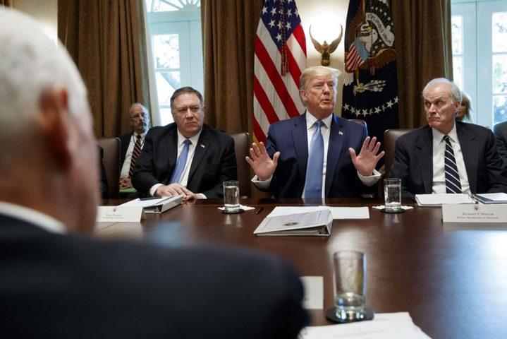 ترامب يدرس خيارات الرد على هجوم ارامكو