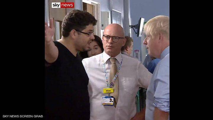 كاميرات تسجل كذب رئيس الوزراء البريطاني