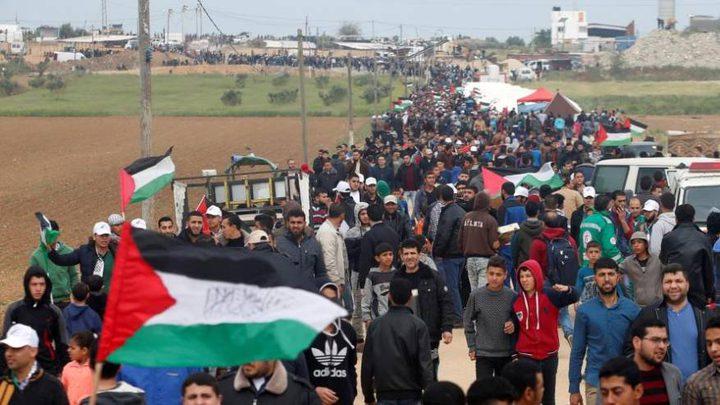"""المواطنون في غزة يستعدون للمشاركة بجمعة """"مخيمات لبنان"""""""