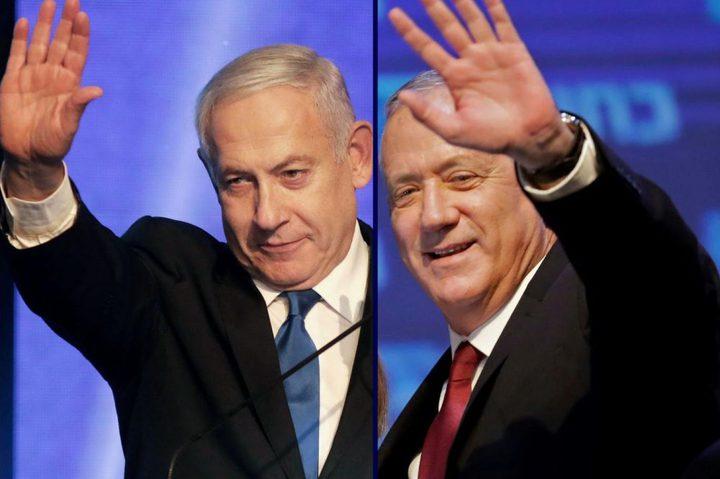 هآرتس: القائمة العربية المشتركة ستوصي بغانتس رئيسًا للوزراء