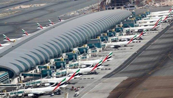نشاط مشتبه لطائرات مسيرة قرب مطار دبي