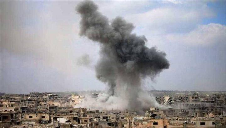 سوريا: قصف معقل المعارضة في إدلب