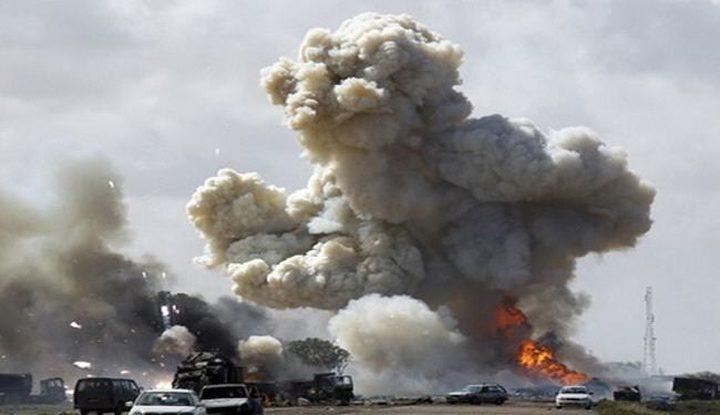 طائرات مجهولة تقصف معسكر الحشد الشعبي غربي الأنبار بالعراق