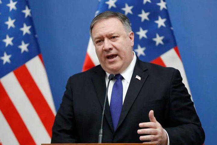 """بومبيو يؤكد أن المهمة المتعلقة بإيران هي """"تفادي الحرب"""""""