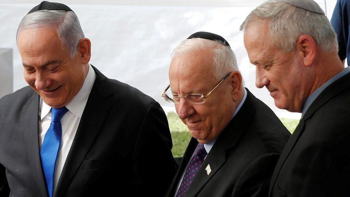 نتنياهو وغانتس يعلنان عن البدء بتشكيل حكومة وحدة