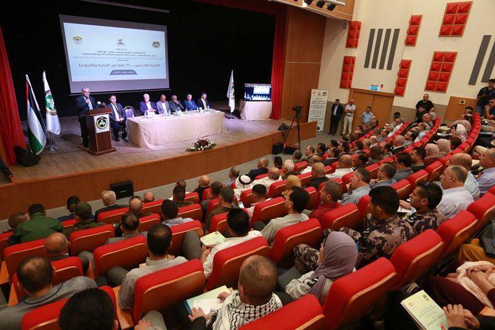 أبو هولي: شعبنا يواجه حرباً إسرائيلية مفتوحة تستهدف وجوده