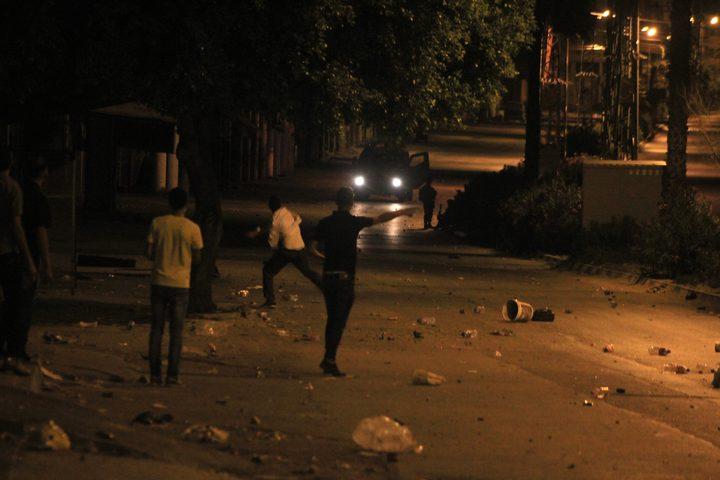"""إصابات عقب اقتحام المستوطنين """"مقام يوسف"""" شرق نابلس"""