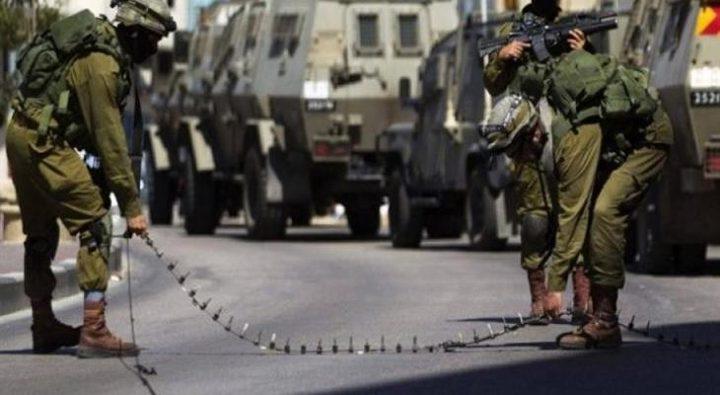 الاحتلال ينصب حاجزا عسكريا غرب بيت لحم