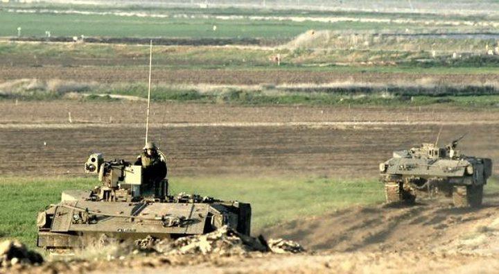 آليات الاحتلال تتوغل بشكل محدود وسط قطاع غزة