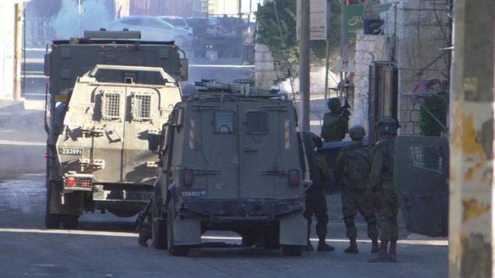 إصابات عقب إقتحام الاحتلال حي بطن الهوا في رام الله
