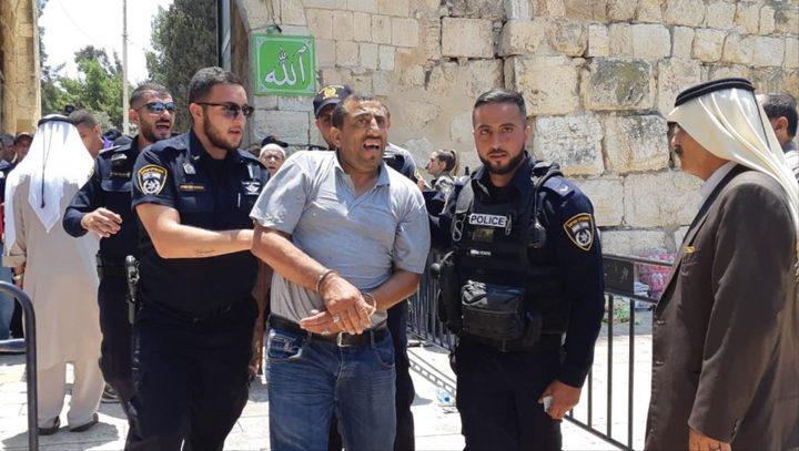 الأردن: اعتقال وزير القدس تصعيد خطير
