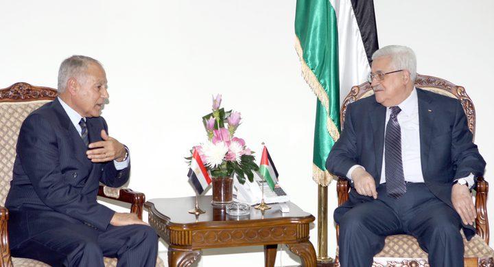 الرئيس يلتقي الأمين العام لجامعة الدول العربية أحمد أبو الغيط