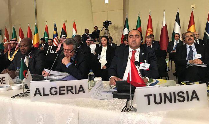 لجنة التعاون الاقتصادي لمنظمة التعاون الإسلامي تزور فلسطين