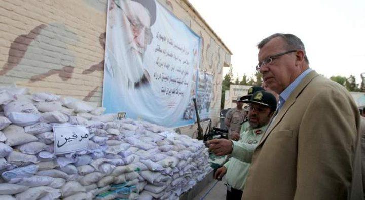 ايران: ضبط مواد مخدرة في طريقها الى أوروبا