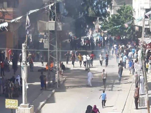 اشتباكات مسلحة بعد مقتل شاب بمشاجرة جنوبي غزة