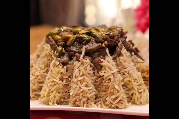 الأرز المبهر