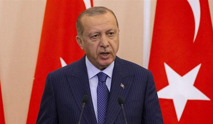 أردوغان: العمل على انشاء منطقة امنة بسوريا مستمر