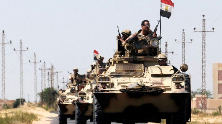 استشهاد وإصابة ضابط و9 جنود مصريين أثناء اشتباكات مع إرهابيين