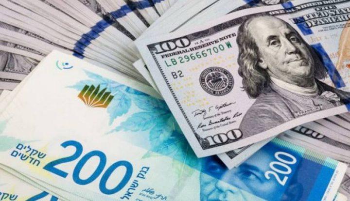 صرف العملات مقابل الشيقل الإسرائيلي