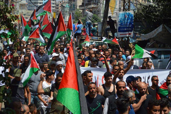 الاحتلال يقمع مسيرة احتجاجية شمال البحر الميت
