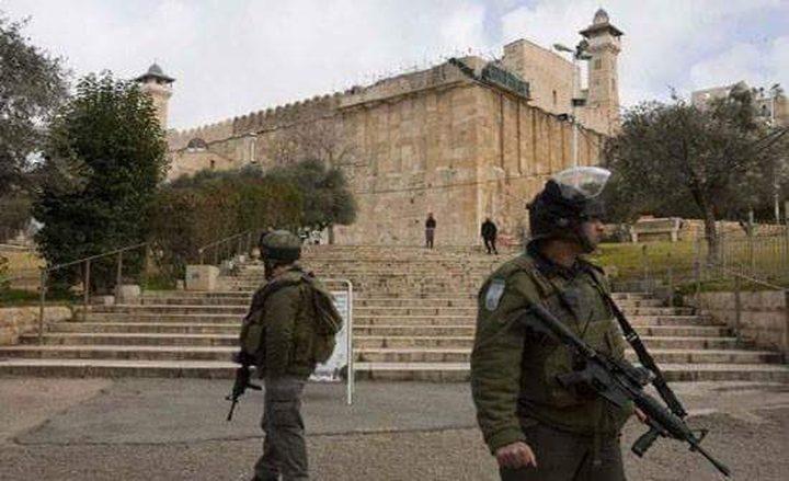 الاحتلال يغلق الحرم الإبراهيمي غدا وبعد غد