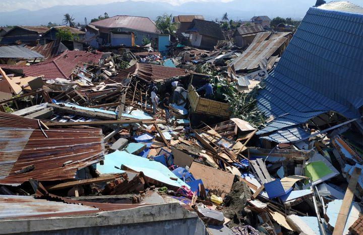 30 قتيلاً حصيلة زلزال اندونيسيا