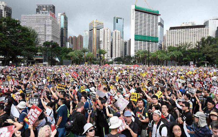 """تايوان تتضامن مع الاحتجاجات في """"هونج كونج"""""""
