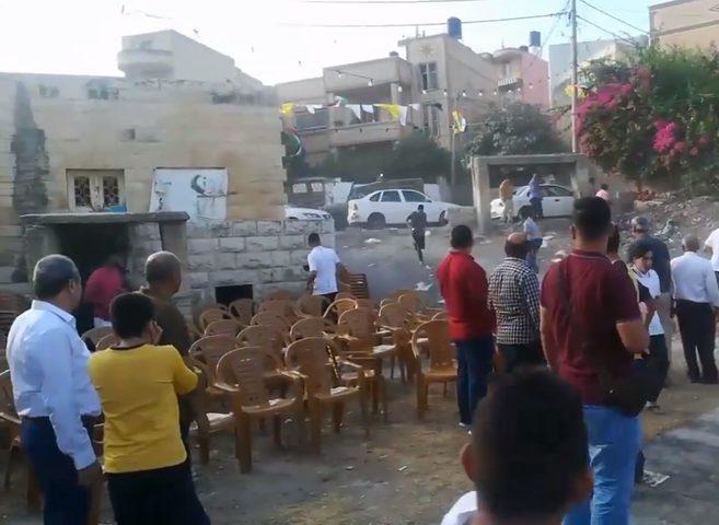 الاحتلال يهاجم حفل استقبال أسير محرر في اللبن الشرقية