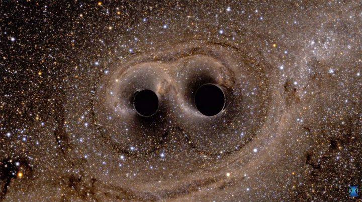 اكتشاف 3 ثقوب سوداء عملاقة في مسار تصادمي