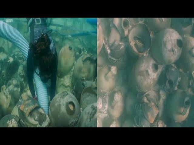اكتشاف حطام سفينة تعود للإمبراطورية الرومانية