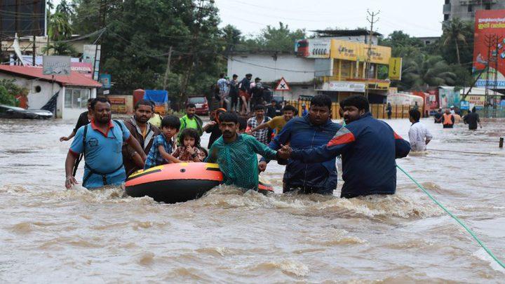 120 قتيلا حصيلة ضحايا السيول في الهند
