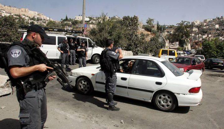 قوات الاحتلال تغلق عدة شوارع في بلدة سلوان