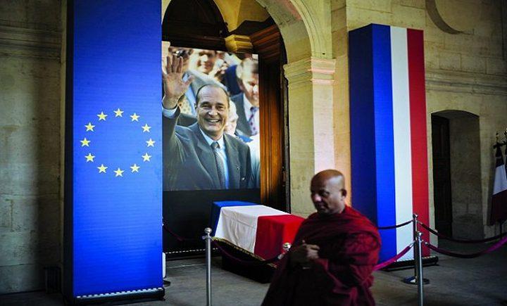 فرنسا تودع رئيسها الأسبق جاك شيراك