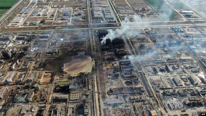الصين: 19 قتيلا بحريق مصنع